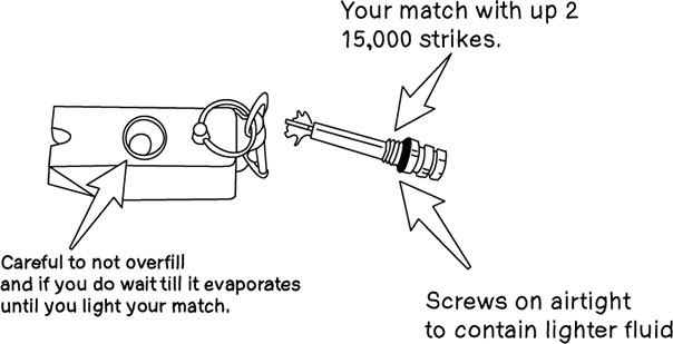 everstryke match, fire starter, survival gear