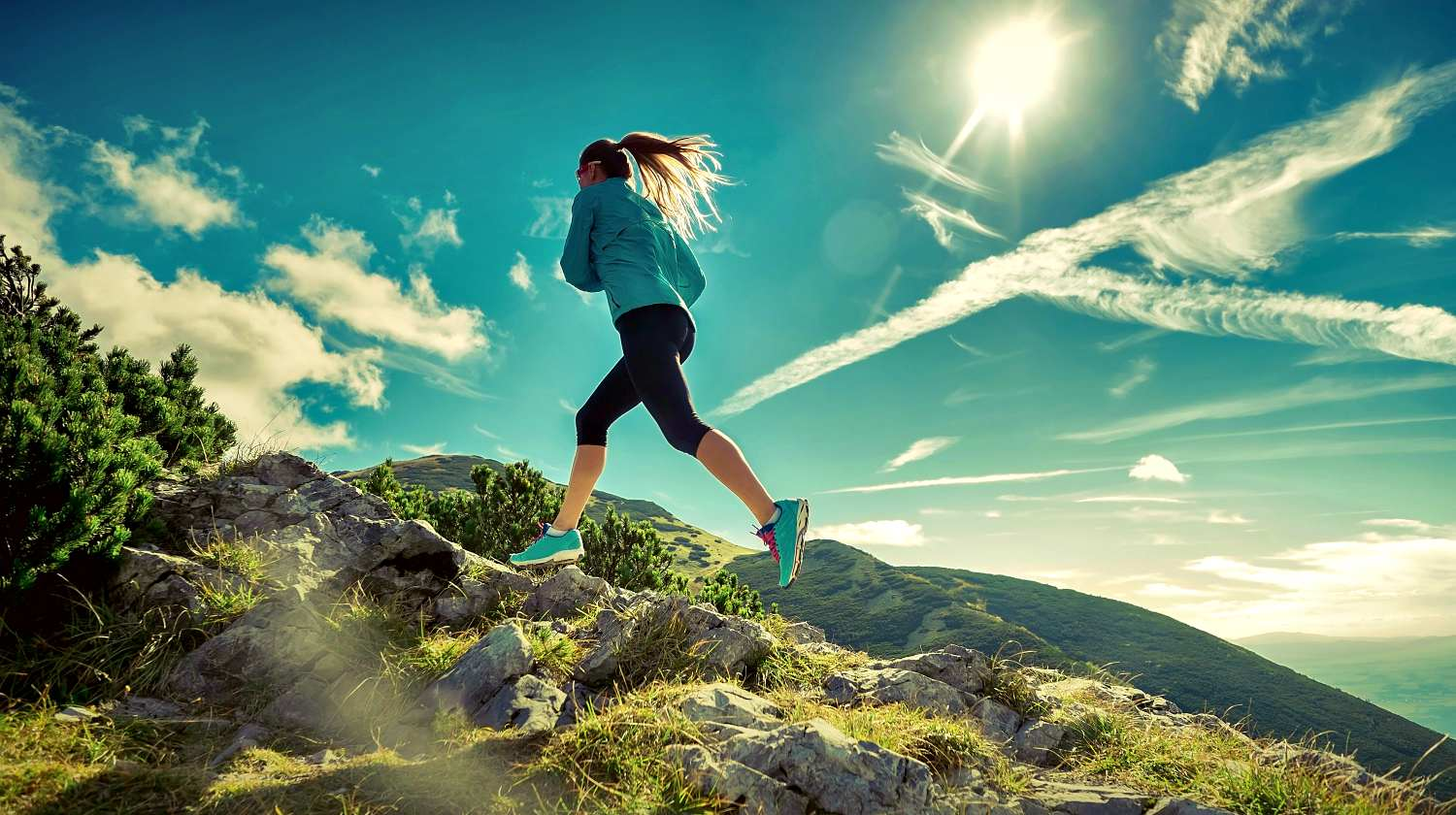 Featured   Female running in mountains under sunlight   Running Zigzag: Is It Actually Effective In Threat Evasion?