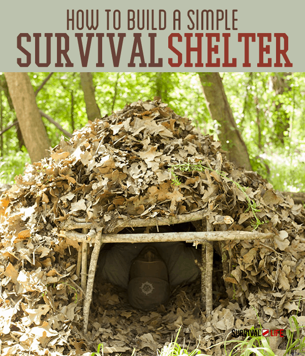 Survival Skills: How To Build Survival Shelter