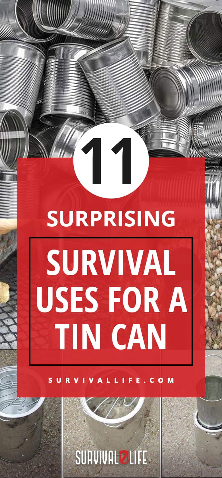 Tin Can | 11 Surprising Survival Uses for a Tin Can