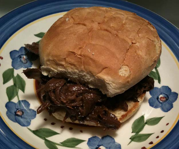 Shredded Venison Sandwiches | Unconventional Venison Recipes To Try This Hunting Season
