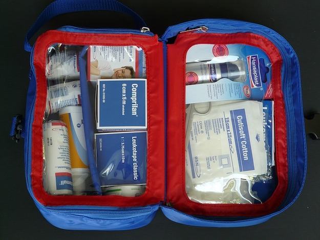 Check out Building a Target First Aid Kit: Part 2 at https://survivallife.com/survival-hacks-building-first-aid-kit-part-2/