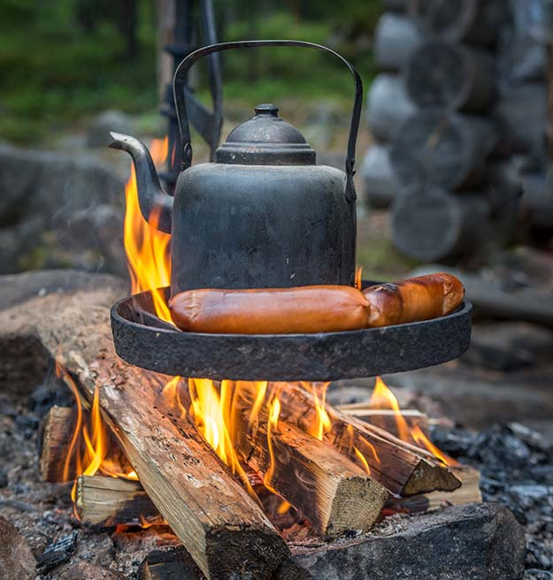 The 10 Commandments When Campfire Cooking