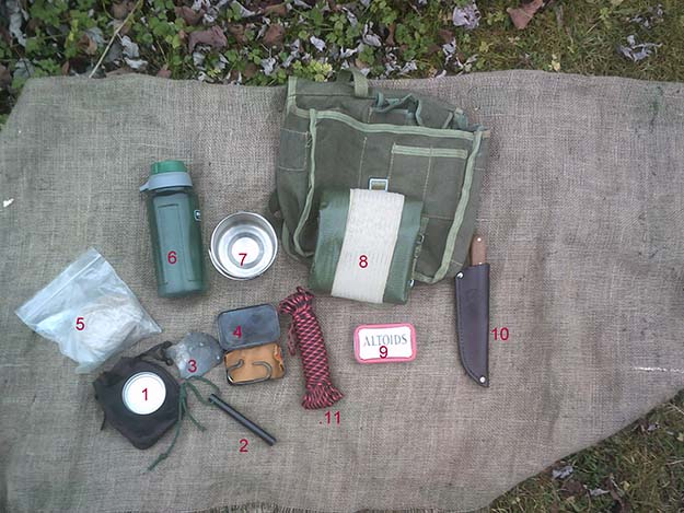 Polish Army Bread Bag Kit Contents (To Date) | Make a Polish Army Bread Bag Kit