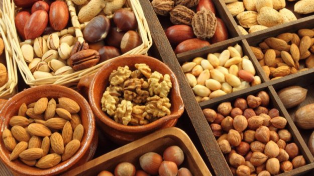Nuts | Survival Food Items That Actually Taste Good