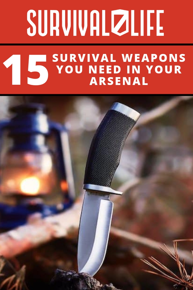 Check out 15 Survival Weapons You Need in Your Arsenal at https://survivallife.com/15-survival-weapons-arsenal/