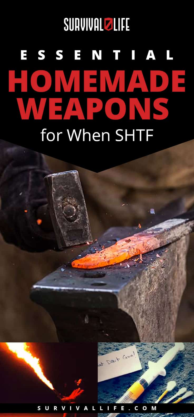 Essential Homemade Weapons | Essential Homemade Weapons for When SHTF