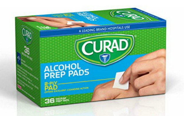 Alcohol Prep Pads and Adhesive Bandages | Must Haves For Your EDC Kit
