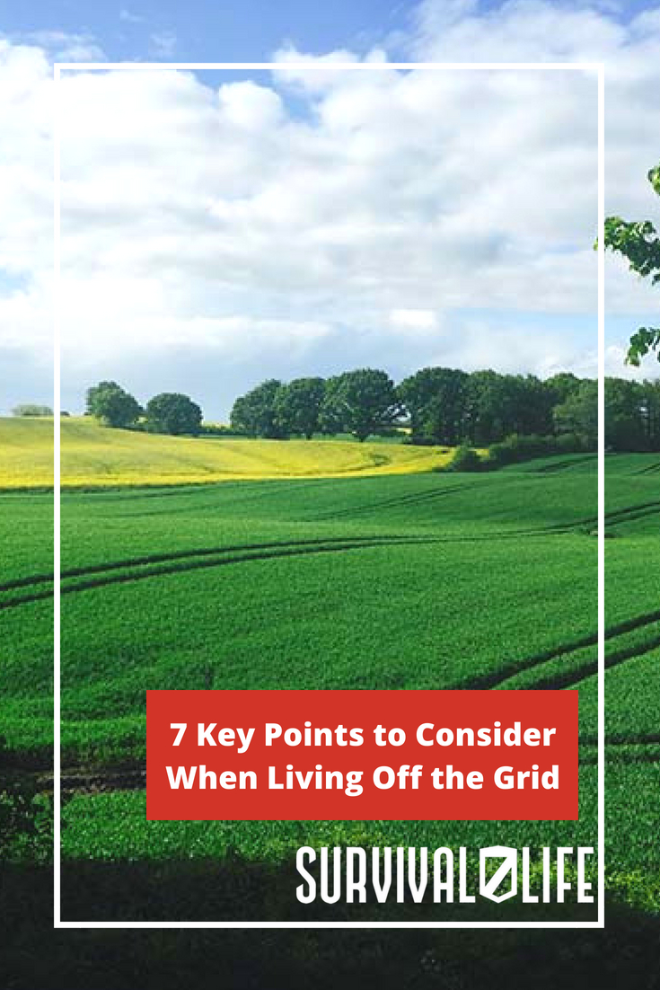 Check out 7 Key Points to Consider When Living Off the Grid at https://survivallife.com/living-off-grid/