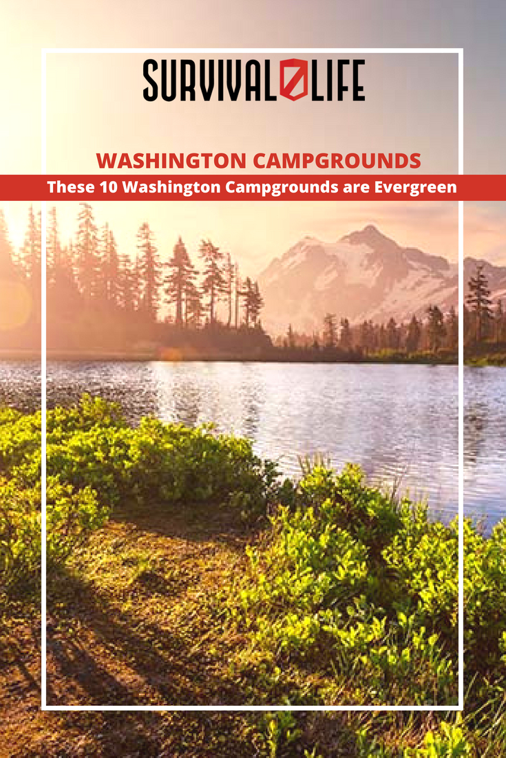 Check out These 10 Washington Campgrounds are Evergreen at https://survivallife.com/washington-campgrounds/