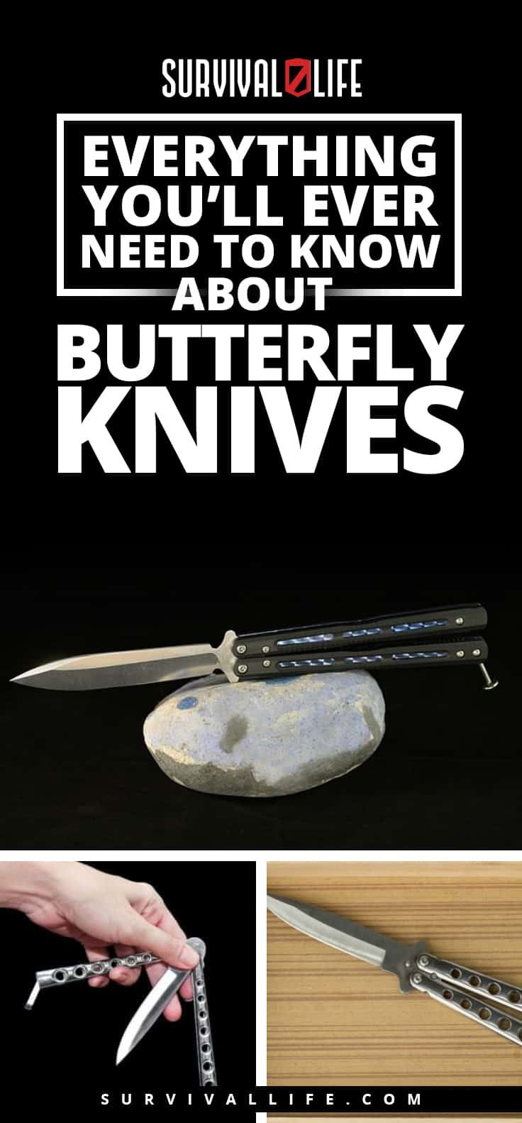Everything You'll Ever Need To Know About Butterfly Knives
