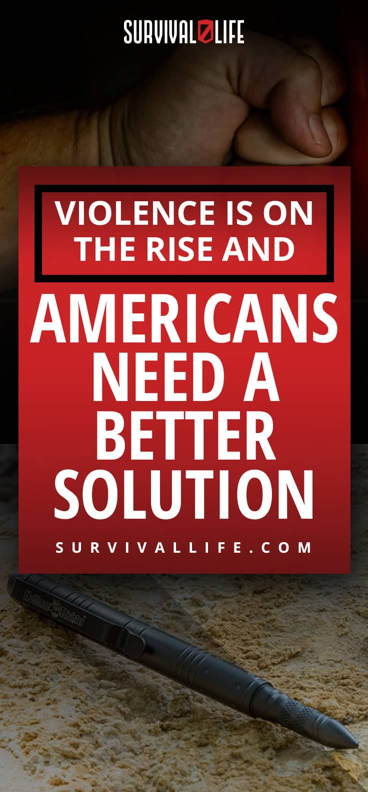 Violence is on the Rise and Americans Need A Better Solution