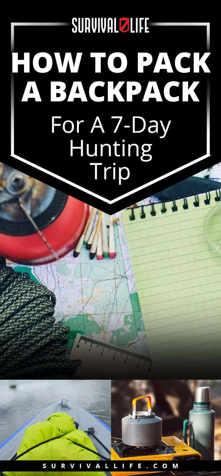 How To Pack A Backpack For A 7-Day Hunting Trip
