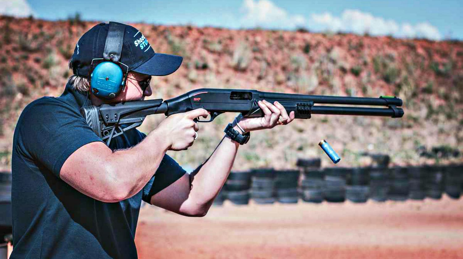 Feature | Man Firing Shotgun | These Hunting Shotguns Are The Best Bang For Your Buck