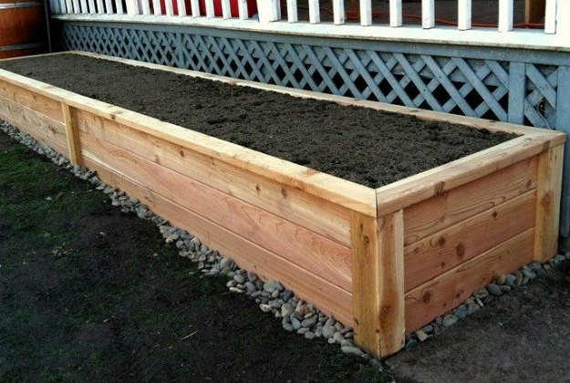 raised bed | Pallet Gardening - 2 Great Layouts For Your Garden