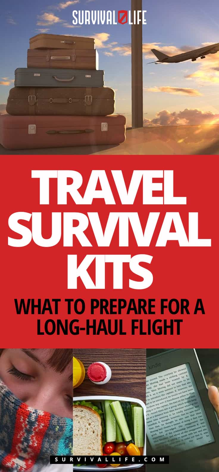 Travel Survival Kits | What To Prepare For A Long-Haul Flight
