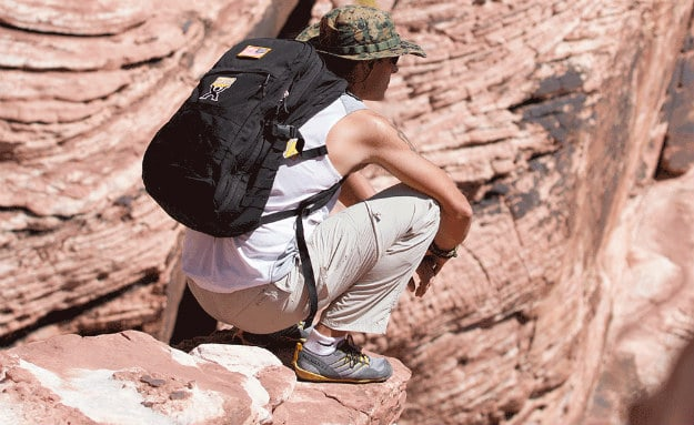 "10 Simple Ways To Be Successful When Bugging-Out ""On Foot"" During A Crisis backpack placement"