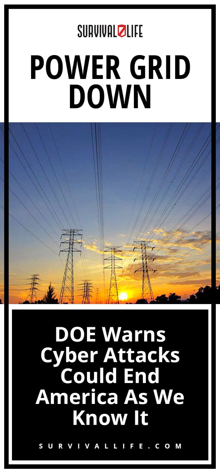 Power Grid Down | DOE Warns Cyber Attacks Could End America As We Know It