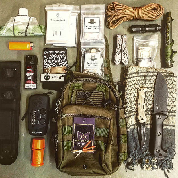 Rule 1: The Right Supplies | Building A Better Bug Out Bag