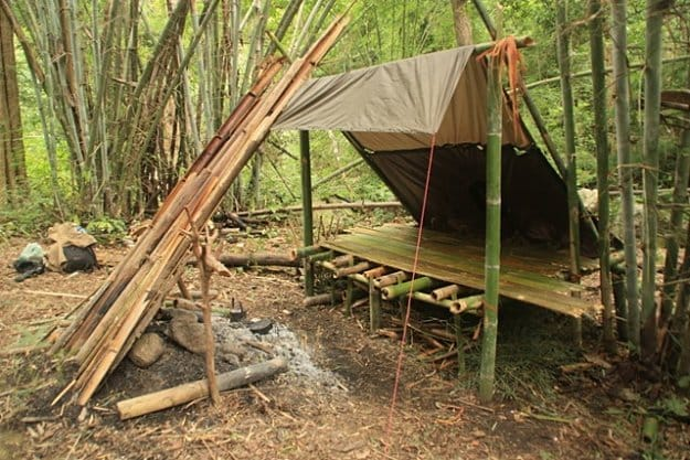 Bamboo House In The Wild | The DIY Survival Shelters You Need To Know To Survive Anything