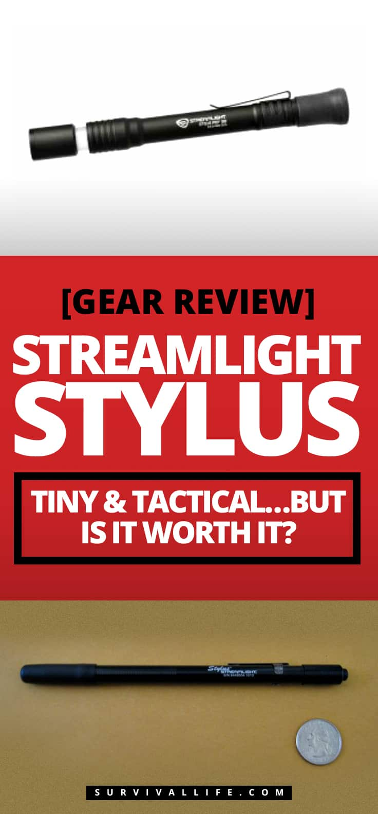 [Gear Review] Streamlight Stylus | Tiny & Tactical…But is it worth it?
