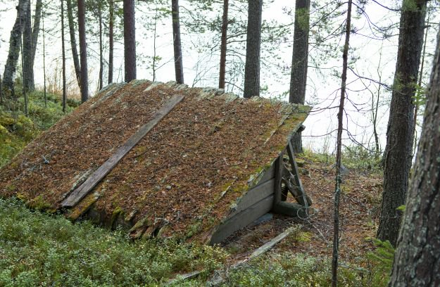 Roofing | How To Create A Dug Out Survival Shelter