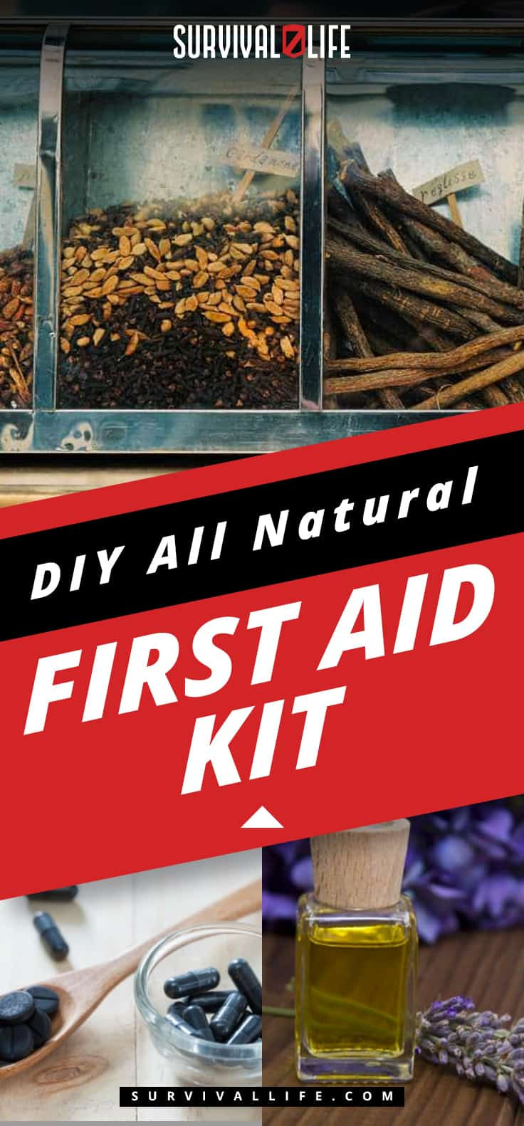 DIY All Natural First Aid Kit