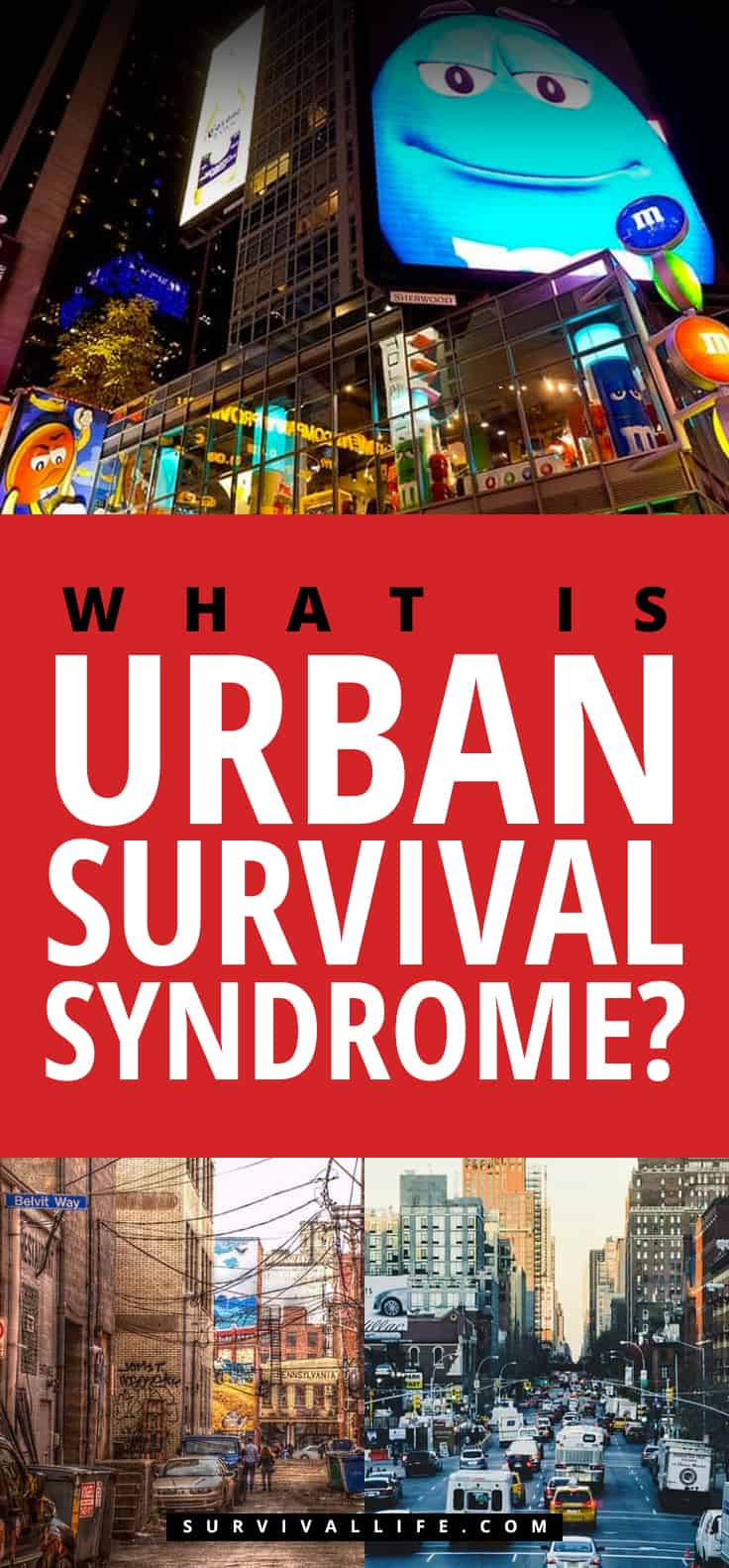 Placard | What Is Urban Survival Syndrome?