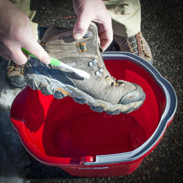 Cleaning Hiking Boot Uppers   How to Maintain Your Hiking Boots