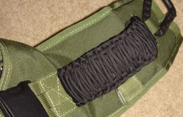 Paracord Backpack Strap Wrap | Awesome Paracord Projects For Preppers