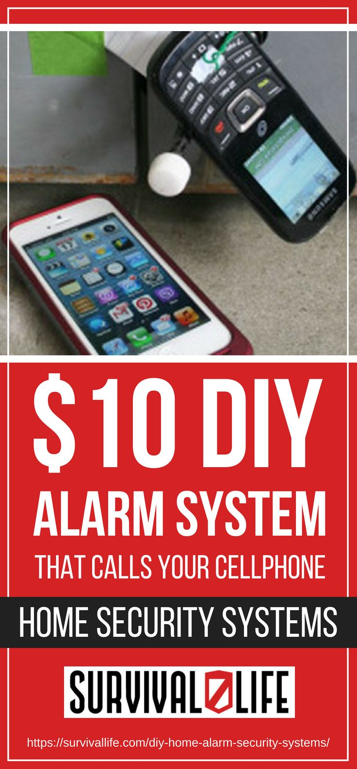 Placard | $10 DIY Alarm System That Calls Your Cellphone | Home Security Systems
