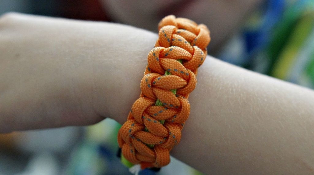 Feature   Orange paracord bracelet   Uses for Paracord That Will Surprise You