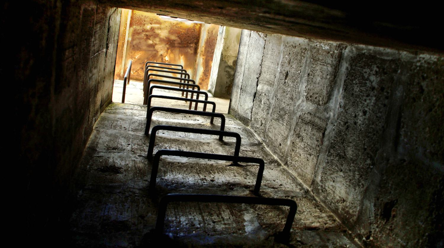 Feature | Building with concrete walls and stairs | How To Build Your Own Underground Bunker For Survival
