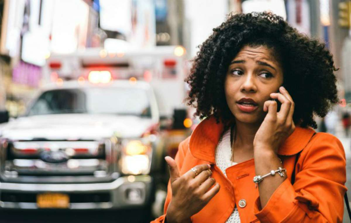 Woman calling for help   Tips For Sheltering In Place