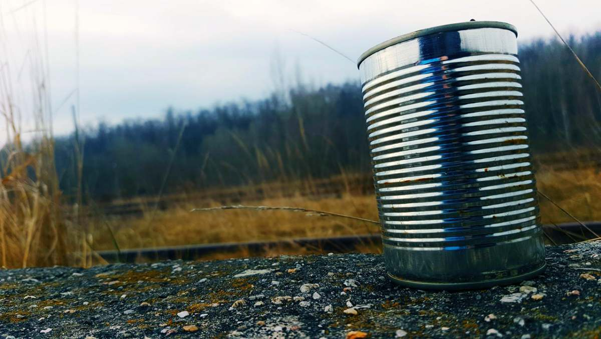 Tin can on the ground | Urban Survival Skills To Master Before SHTF