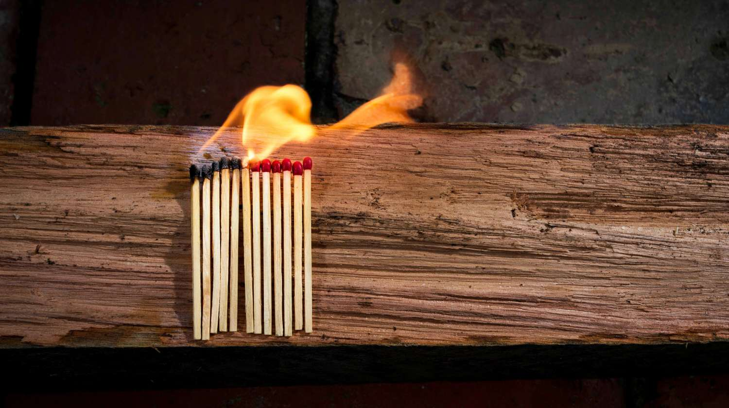 Feature | Burning Matchstick | Homemade Waterproof Matches