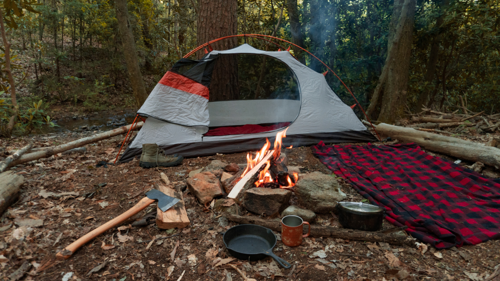 How to Setup a Survival/ Hunting Camp